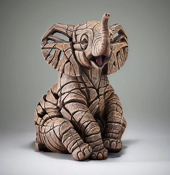 Elephant Calf by Edge Sculptures by Matt Buckley