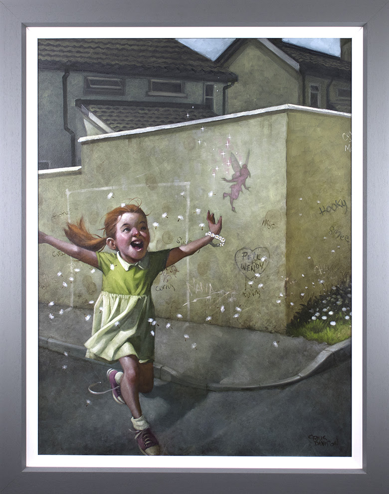 Faith, Trust & Pixie Dust - Canvas by Craig Davison