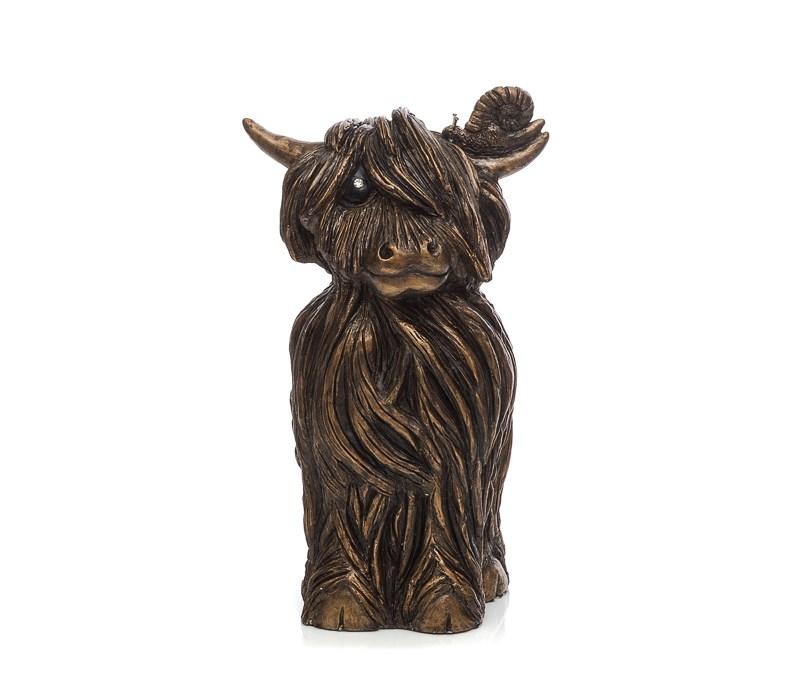 Finley Mcmoo Sculpture by Jennifer Hogwood
