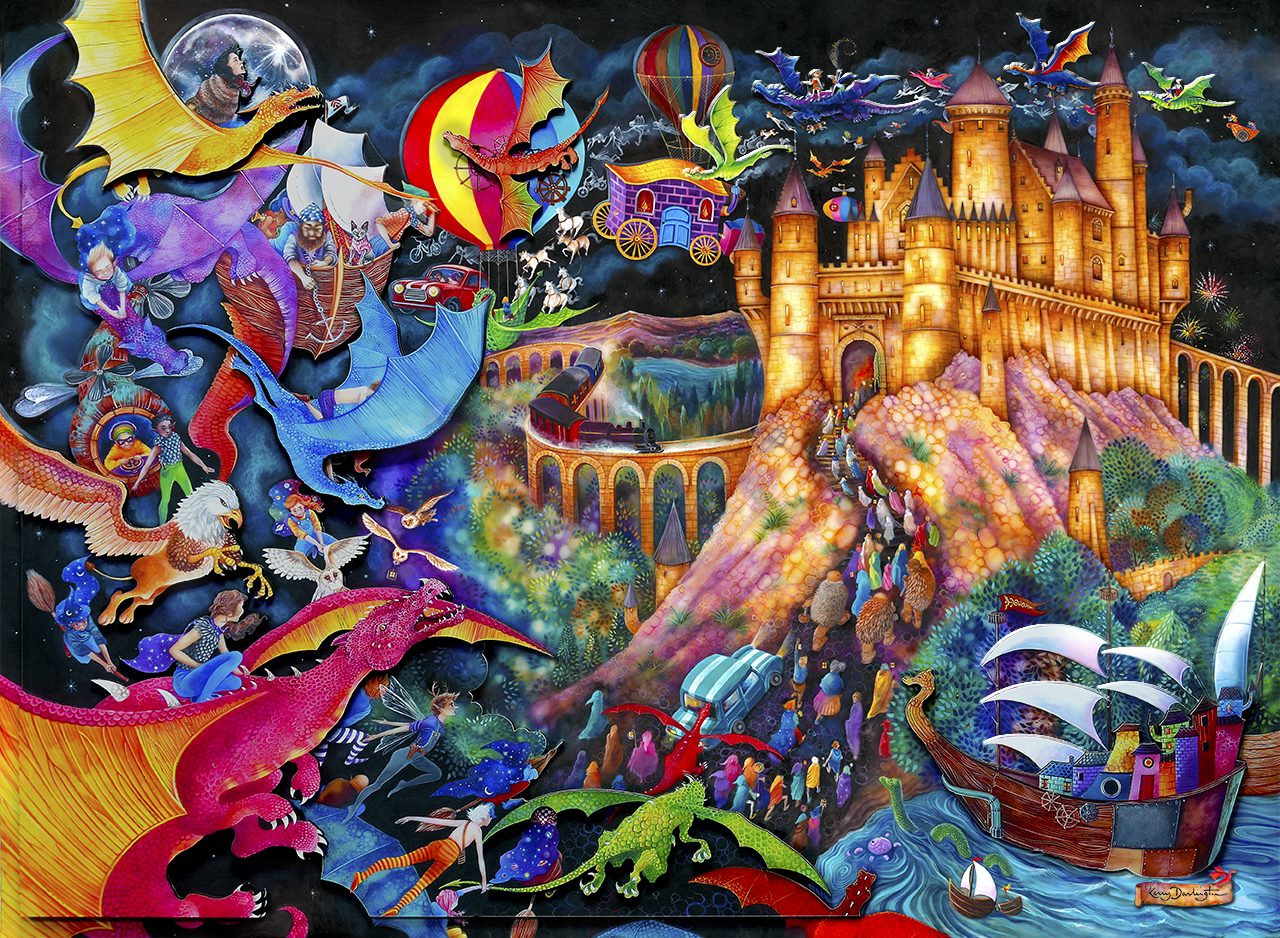 Flight of the Dragons by Kerry Darlington
