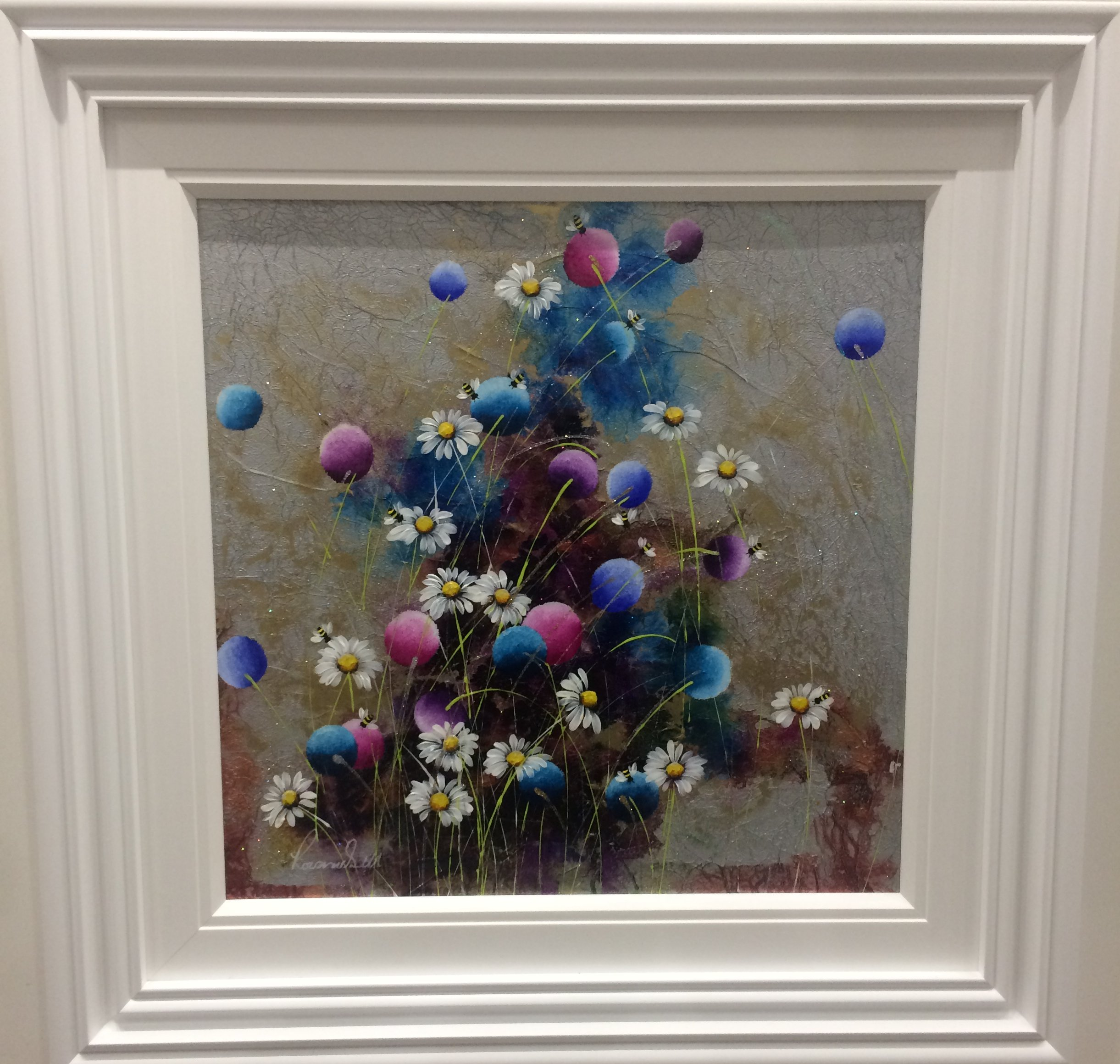 Floral Sparkle by Rozanne Bell