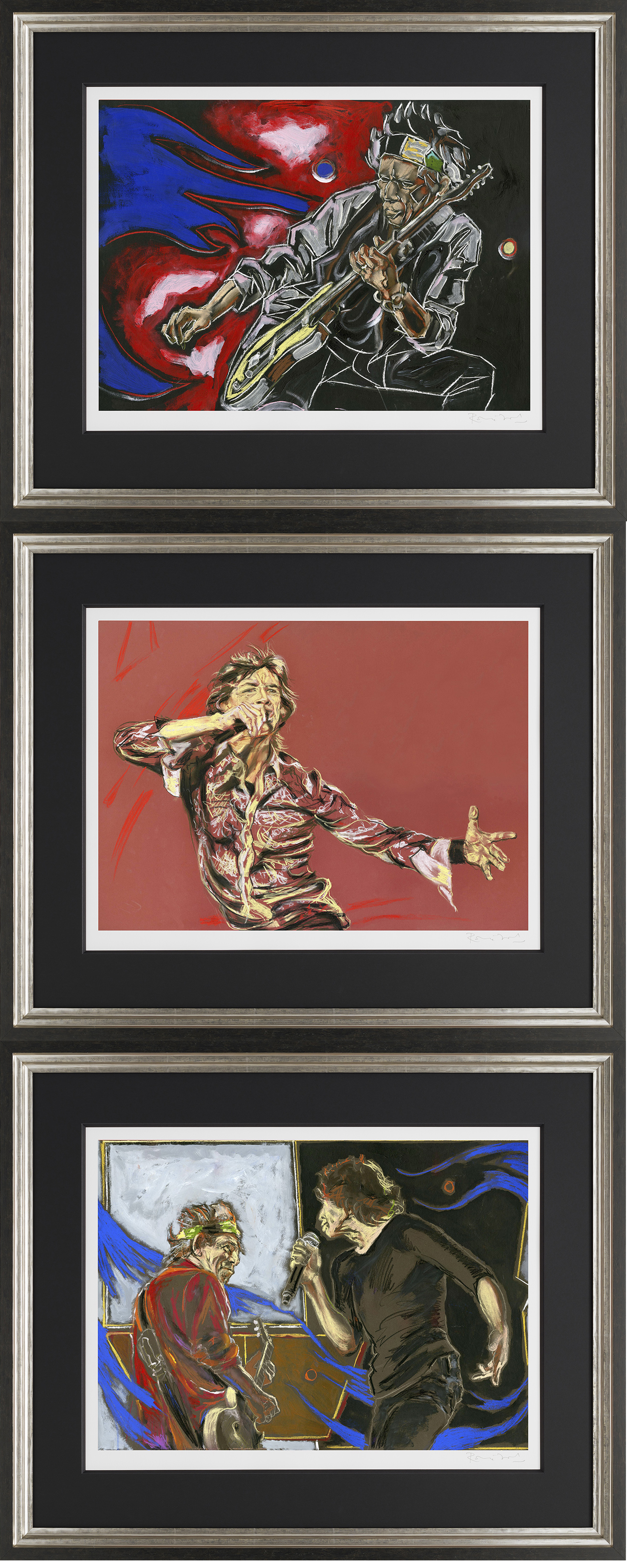 Glimmer suite set of 3 framed by ronnie wood price 385000 glimmer suite set of 3 framed by ronnie wood jeuxipadfo Gallery