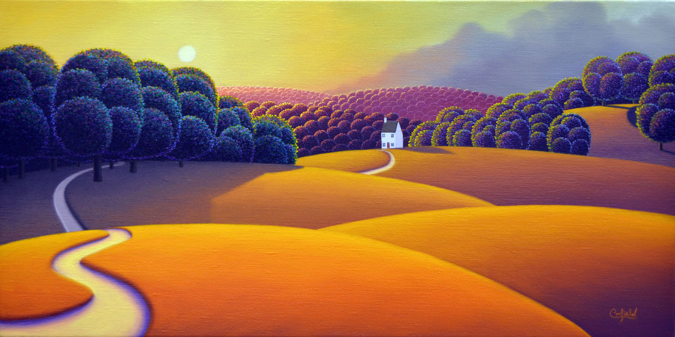Golden Meadows by Paul Corfield