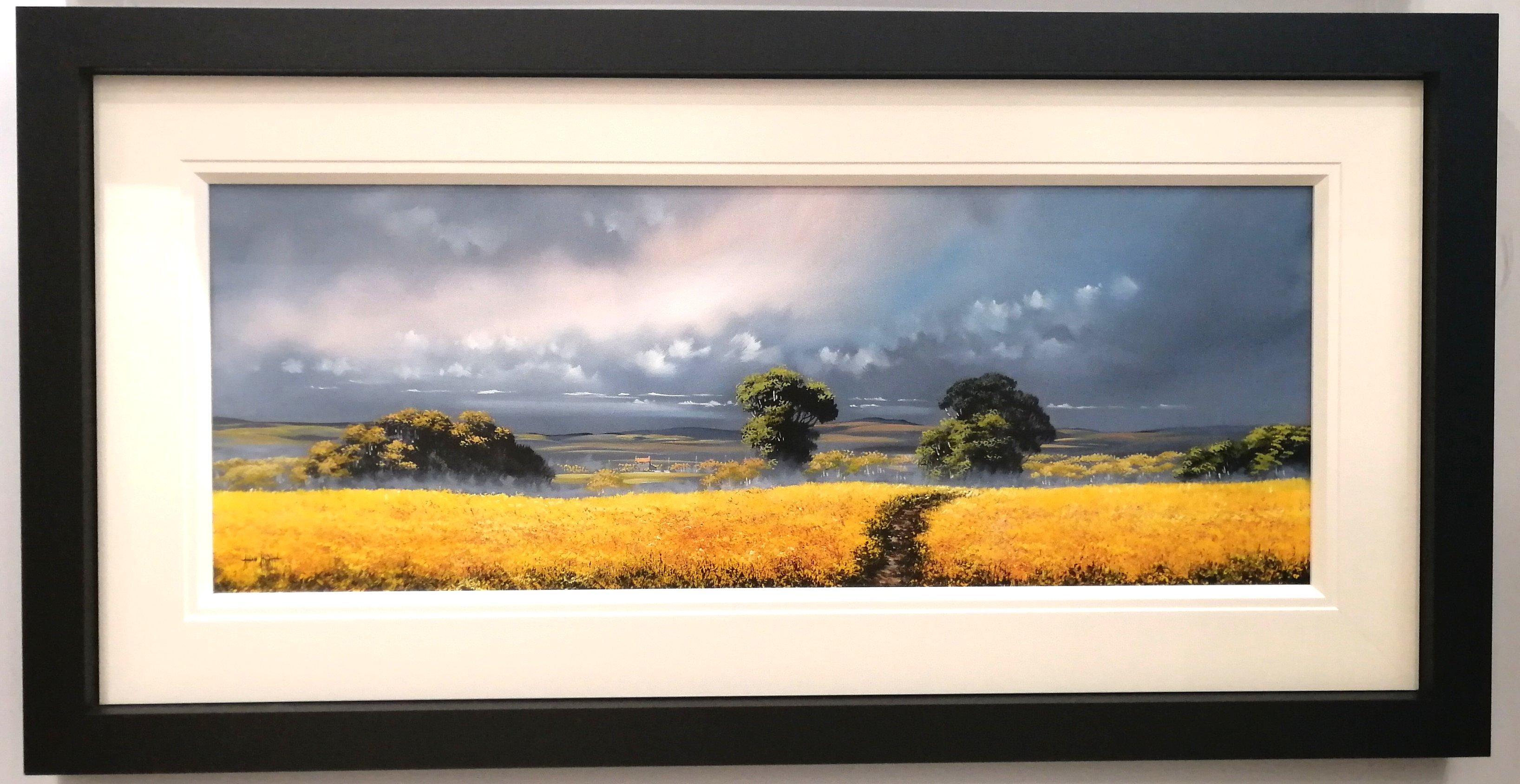 Golden Pathway II (40x15) by Allan Morgan