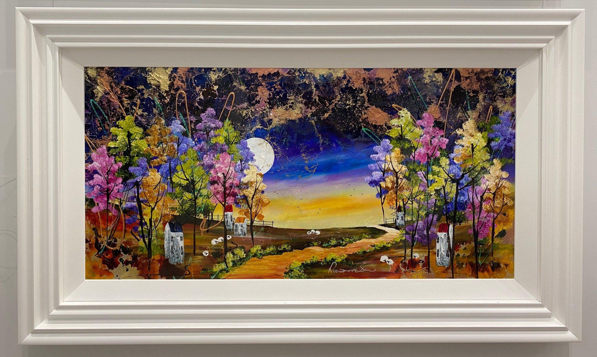 Harvest Moon III by Rozanne Bell