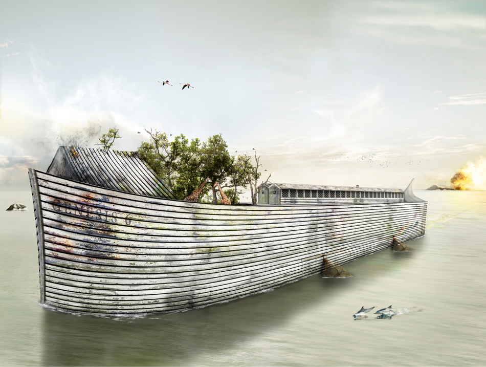 Hell or High Water (Noahs Ark) by Mark Davies