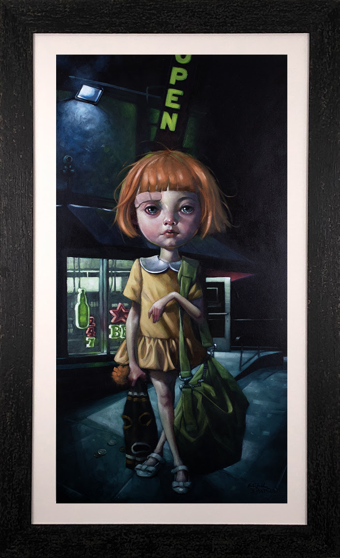 How Far Can Too Far Go? - Canvas by Craig Davison