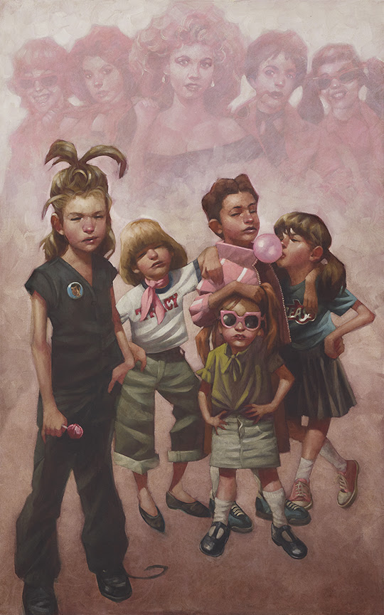 In the pink (The pink ladies & Grease) by Craig Davison