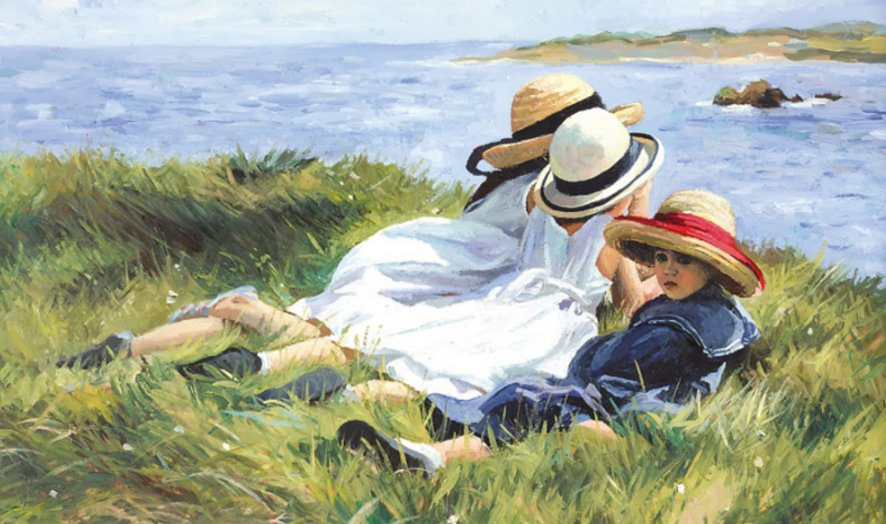 Island Lookouts by Sherree Valentine Daines