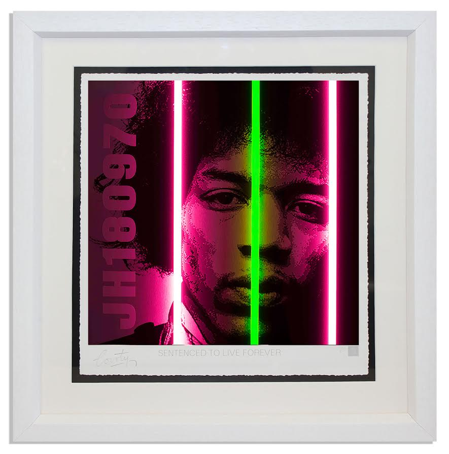 Jimi Hendrix - Life Series by Courty