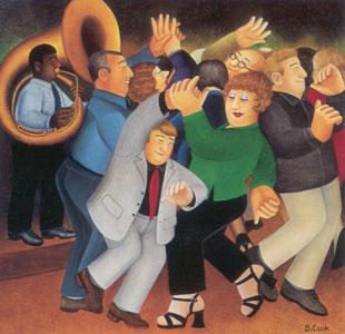Jiving To Jazz by Beryl Cook