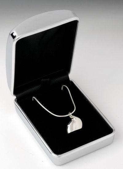Lean On Me - Sterling Silver Necklace by Govinder Nazran