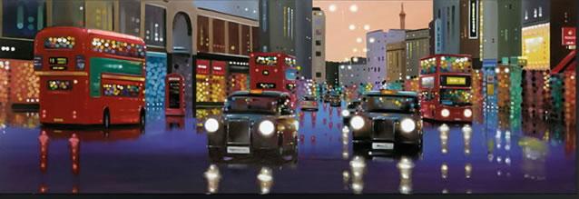 Lights Of London by Neil Dawson