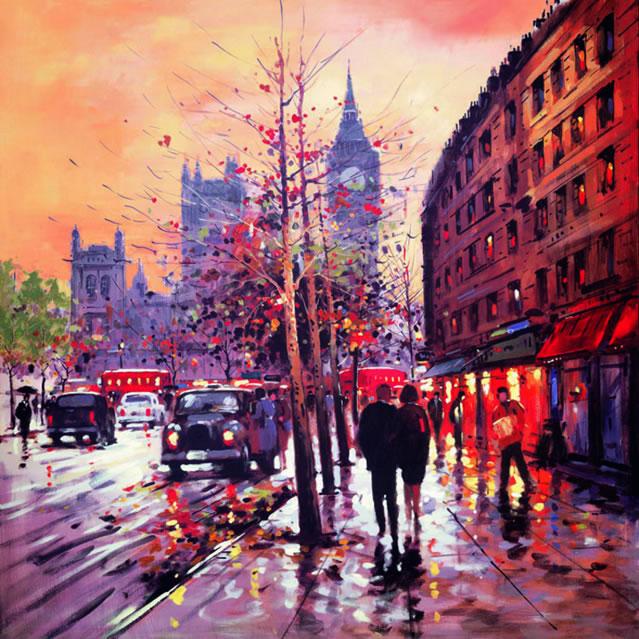London Glow by Henderson Cisz