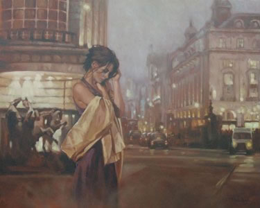 Looking From Piccadilly by Mark Spain