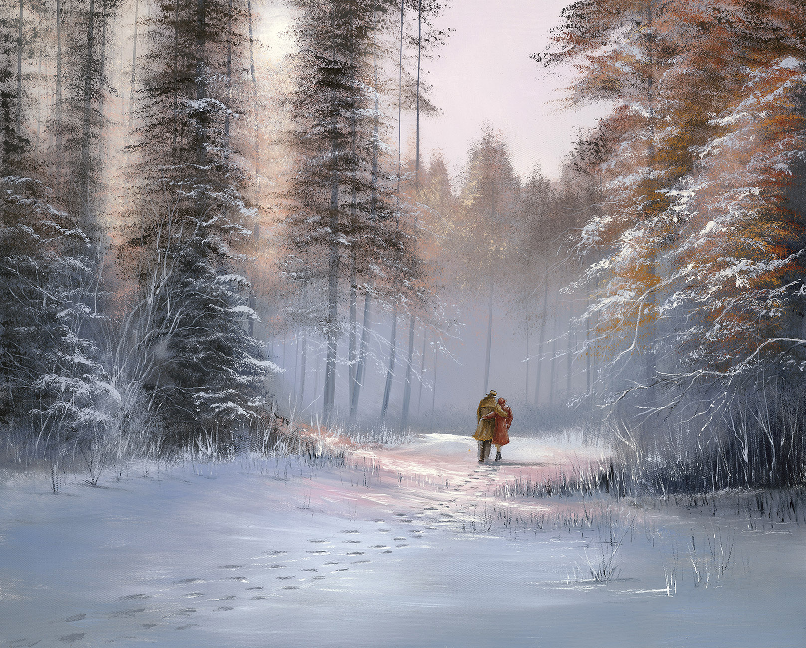 Lovers Stroll by Jeff Rowland