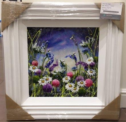 Meadow II (16 x 16) by Rozanne Bell