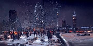Midnight London by Henderson Cisz