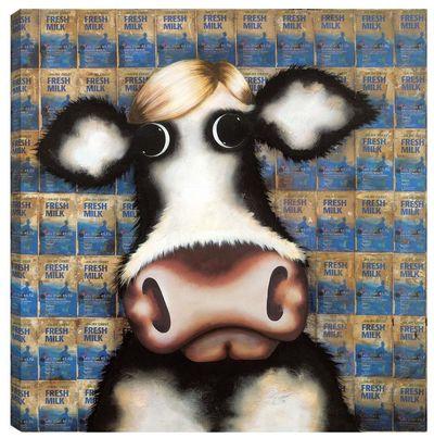 Milk Cartons - Homage To Warhol by Caroline Shotton