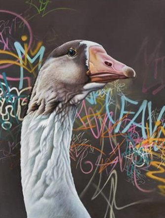 Monty Loose - Canvas by Paul James