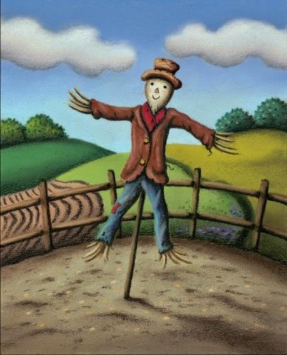 Mr Scarecrow by Paul Horton