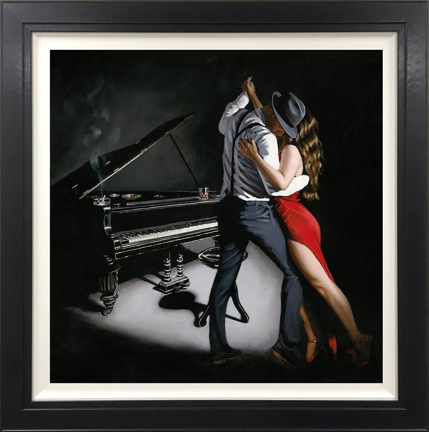 My Heart is Still Dancing- Canvas by Richard Blunt