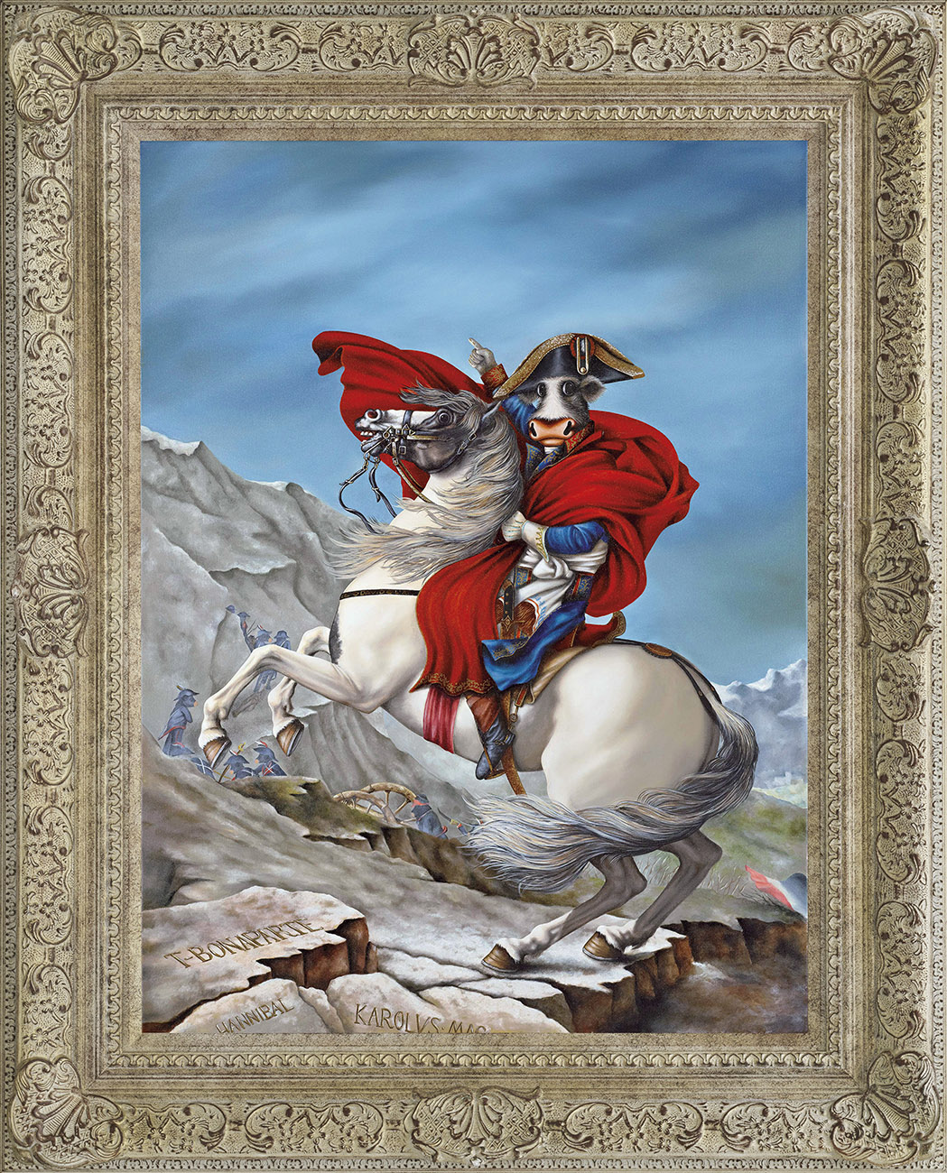 Napoleon T-Bonaparte by Caroline Shotton