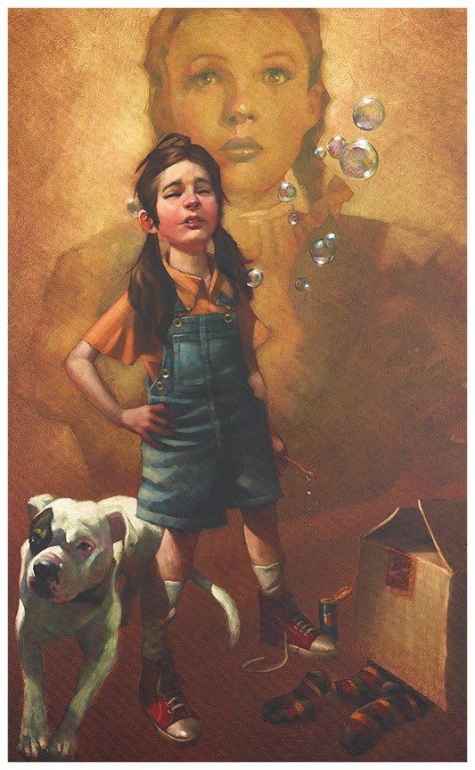 Now I Know We're Not In Kansas - Canvas by Craig Davison