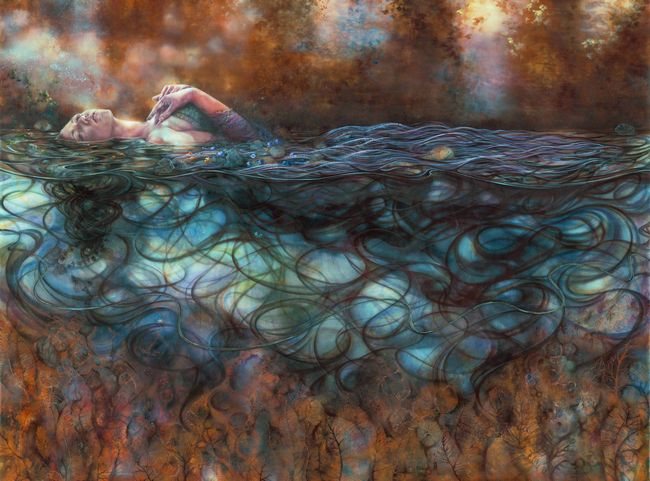 Ophelia by kerry darlington price sold out for Fine art paintings for sale online
