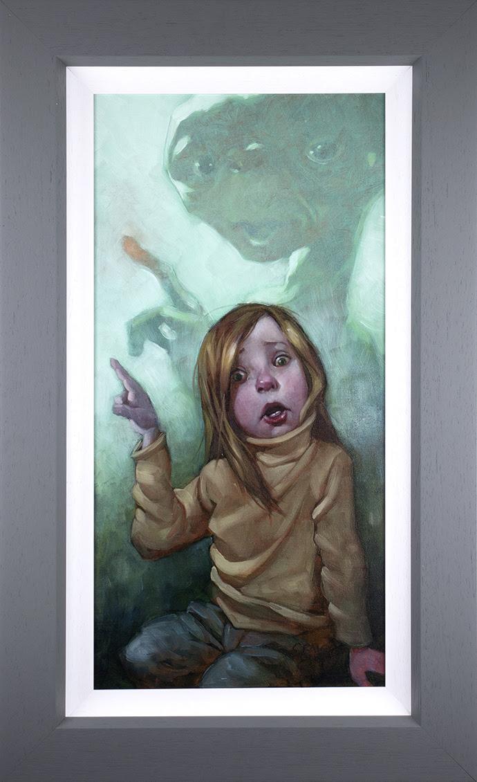 Owwwch - Canvas by Craig Davison
