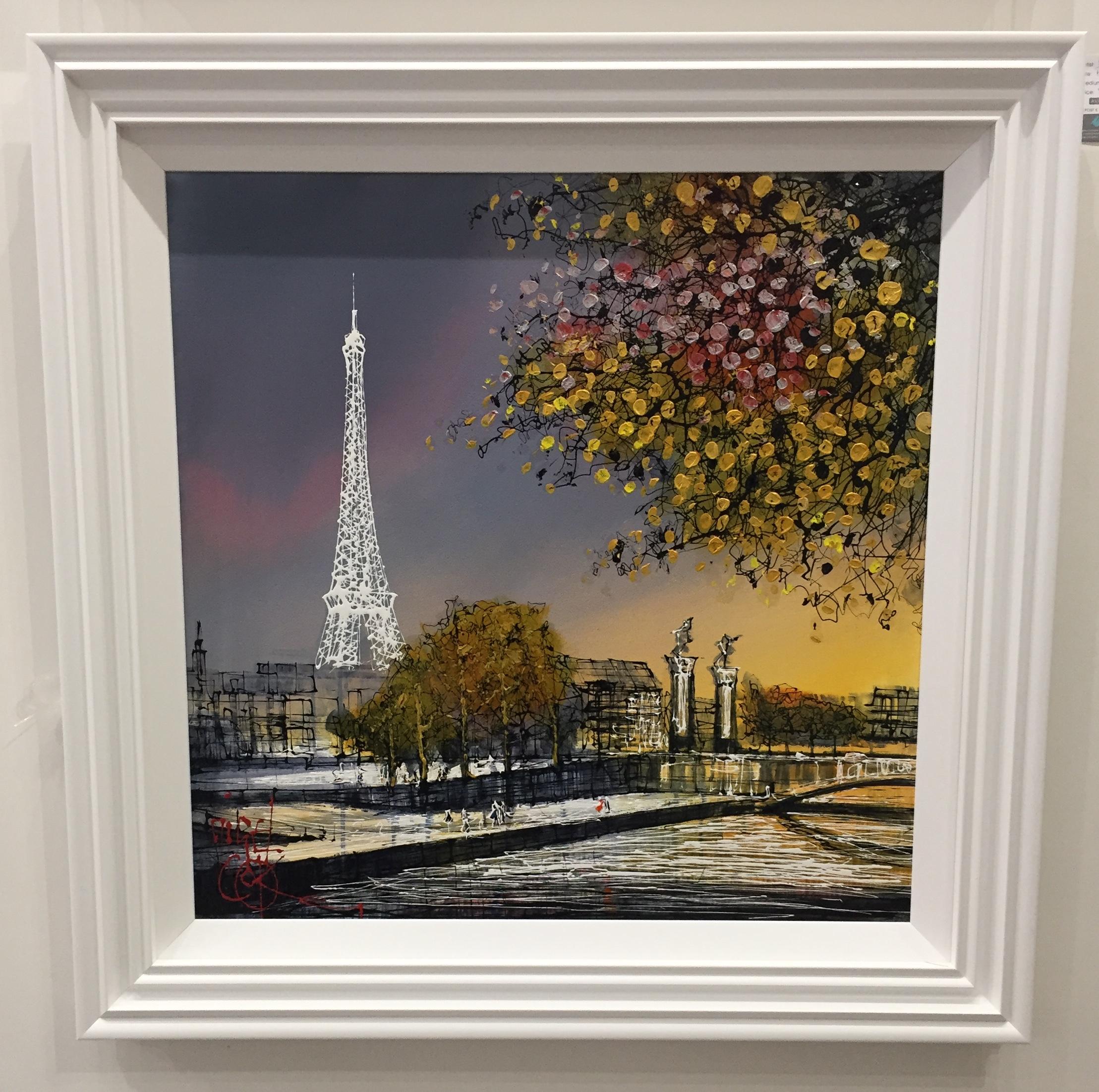 Paris In Autumn by Nigel Cooke