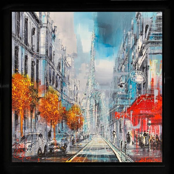 Paris Love by Nigel Cooke
