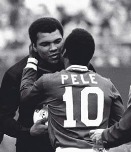Pele & Ali (Muhammad Ali) by Pele