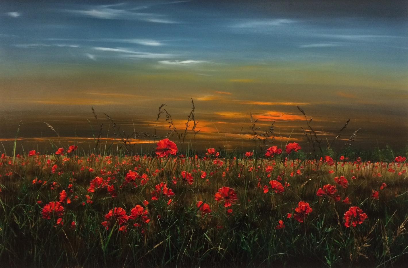 Poppy Fields by Kimberley Harris