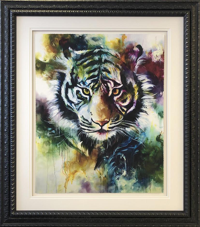 Presence- Tiger 2019 by Katy Jade Dobson
