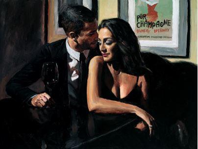 Proposal at Hotel Du Vin by Fabian Perez