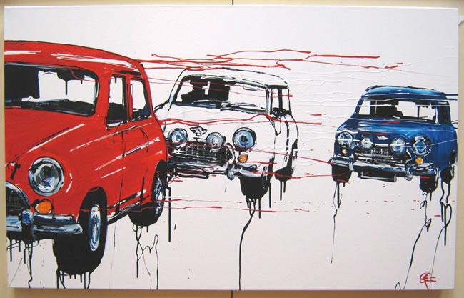 Red White & Blue by Paul Kenton
