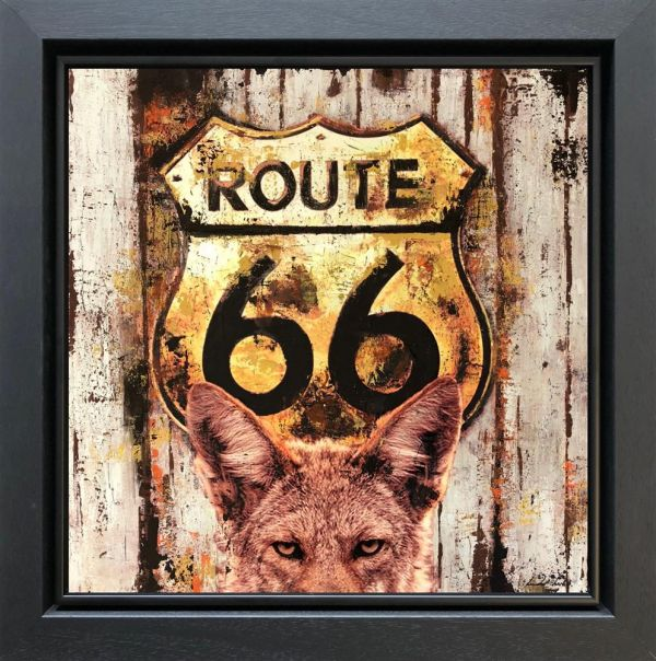 Route 66 by Linda Charles