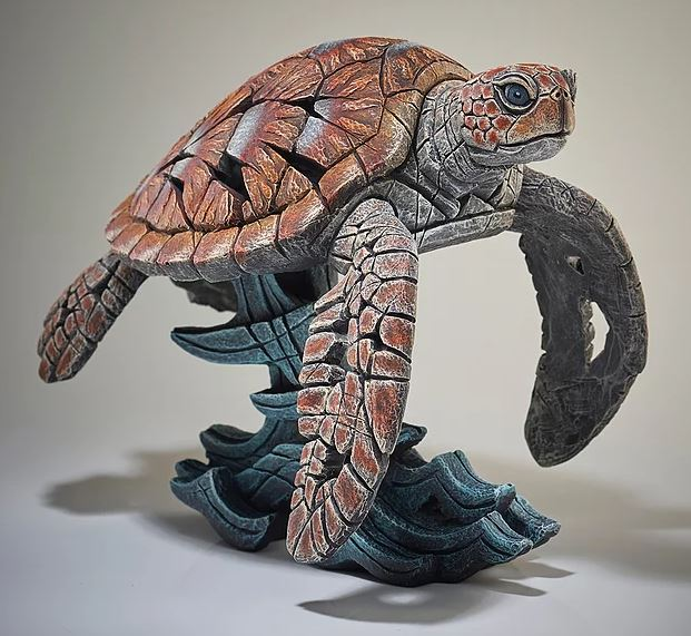 Sea Turtle by Edge Sculptures by Matt Buckley