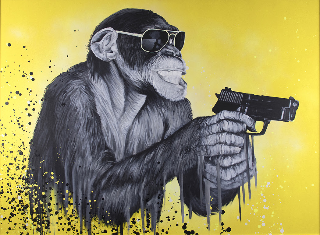 Speak to The Monkey by The Mad Artist