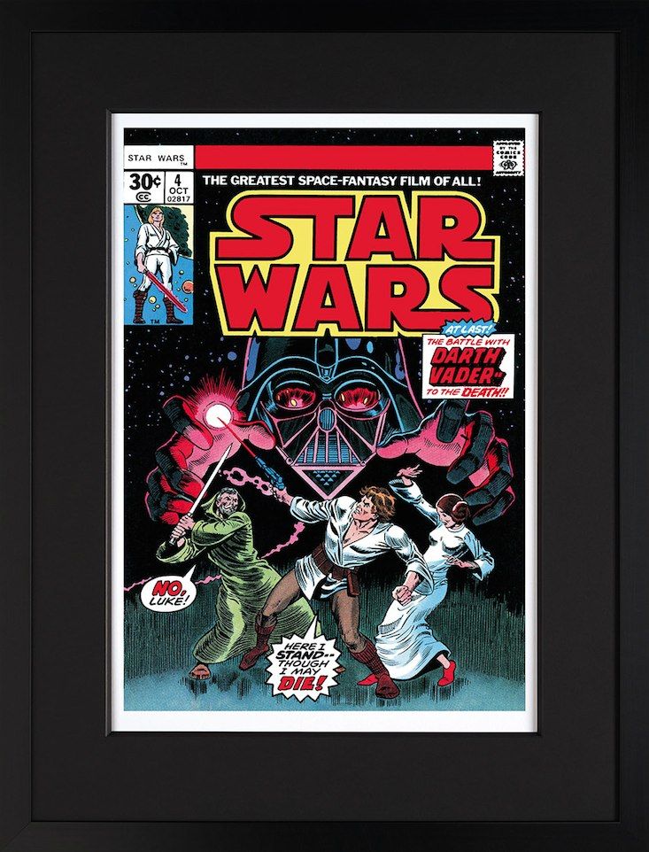 Star Wars # 4 - In Battle With Darth Vader by Stan Lee  Marvel Comics
