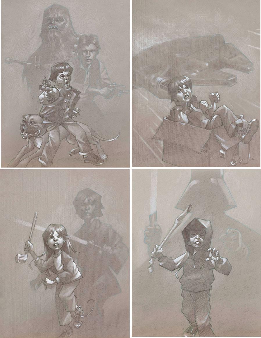 Star Wars Sketch Collection by Craig Davison