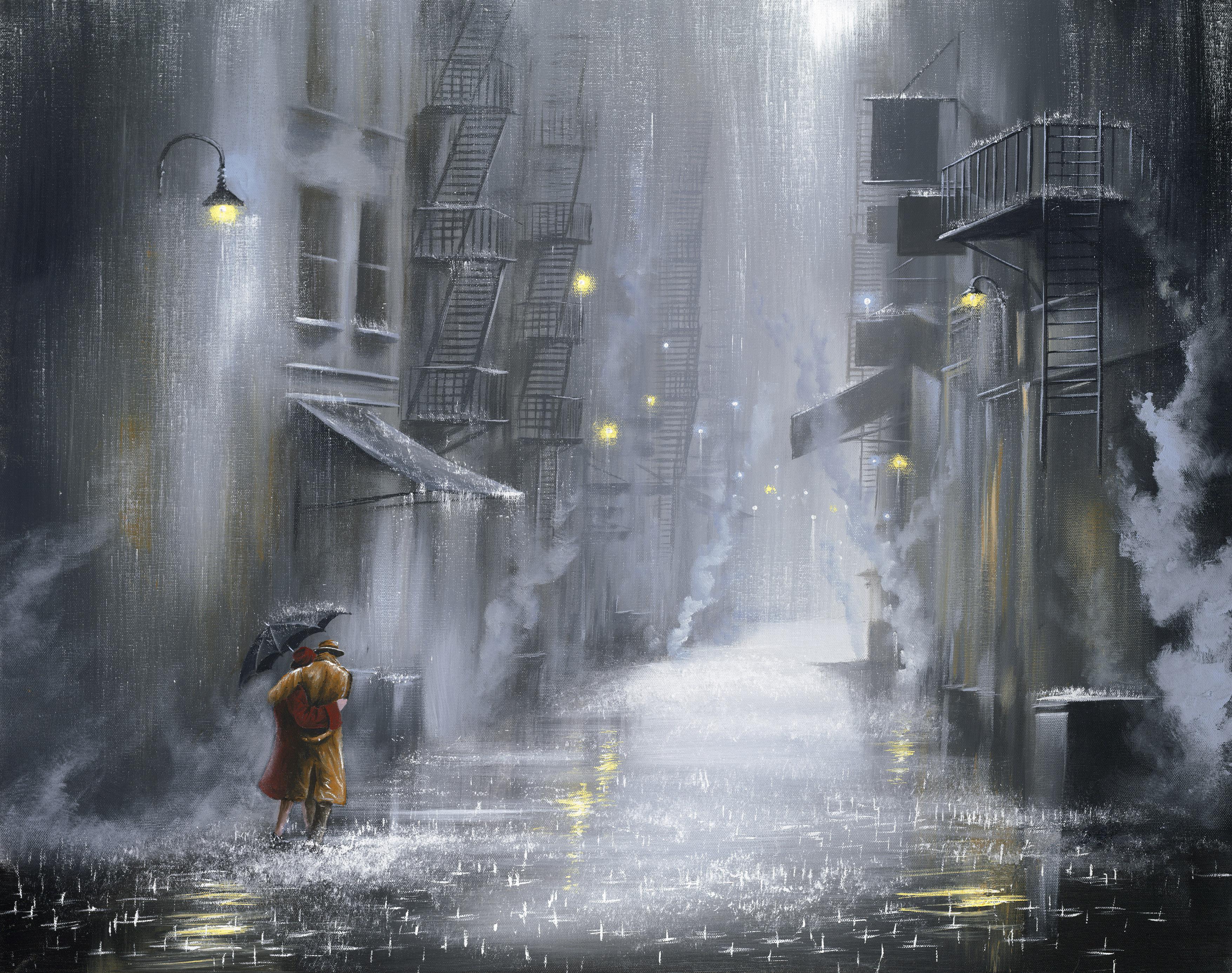 Street Light Stroll by Jeff Rowland