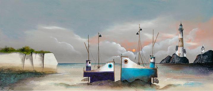 Sunset Romance by Gary Walton