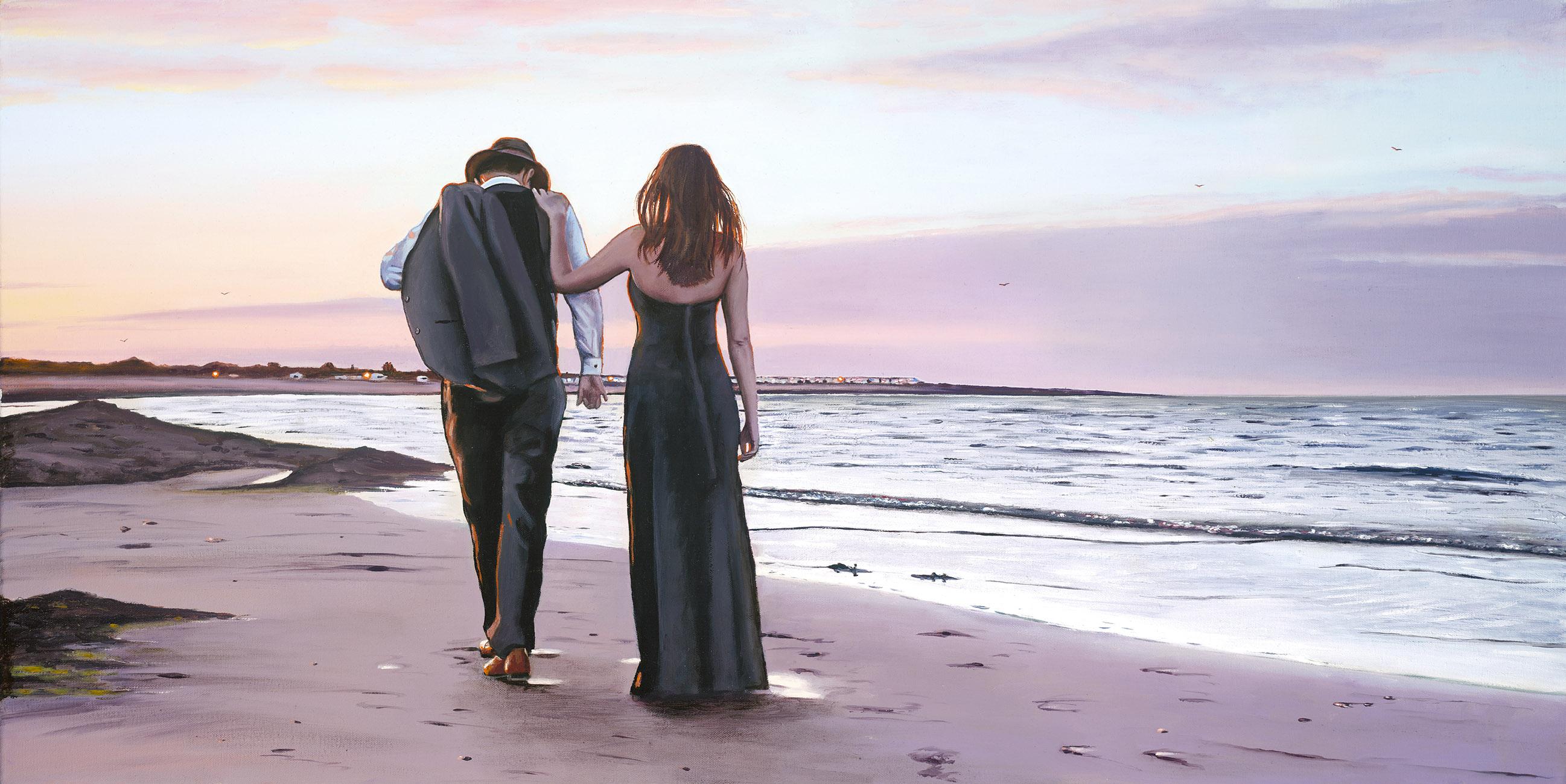 Sunset Sands by Richard Blunt