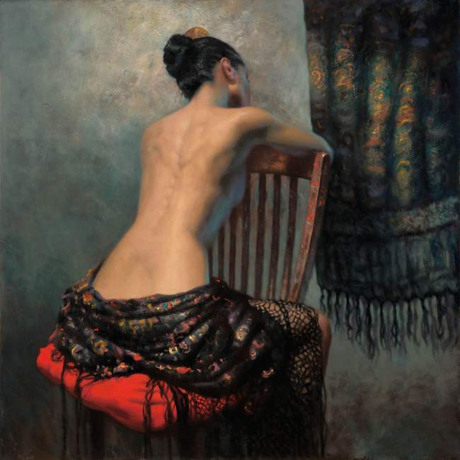 The Artists Chair by Hamish Blakely