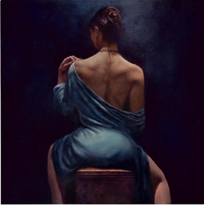The Blue Dress by Hamish Blakely
