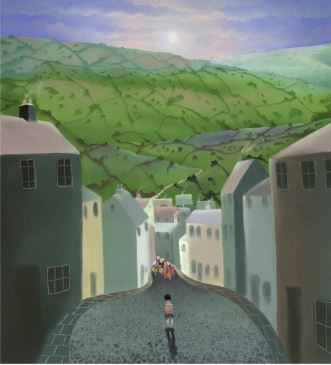 The Boy Without A Bike by Mackenzie Thorpe