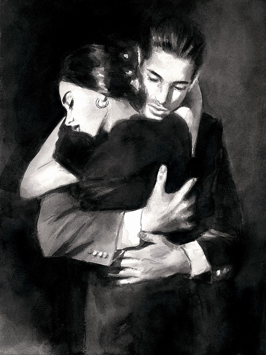 The Embrace II by Fabian Perez