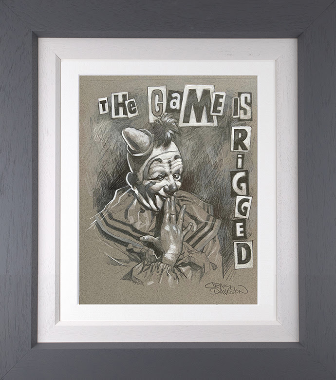 The Game is Rigged- Sketch by Craig Davison